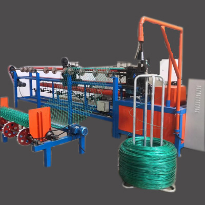 2020 automatic chain link fence making machine