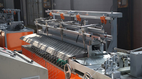 china automatic chain link fence making machine manufacturer