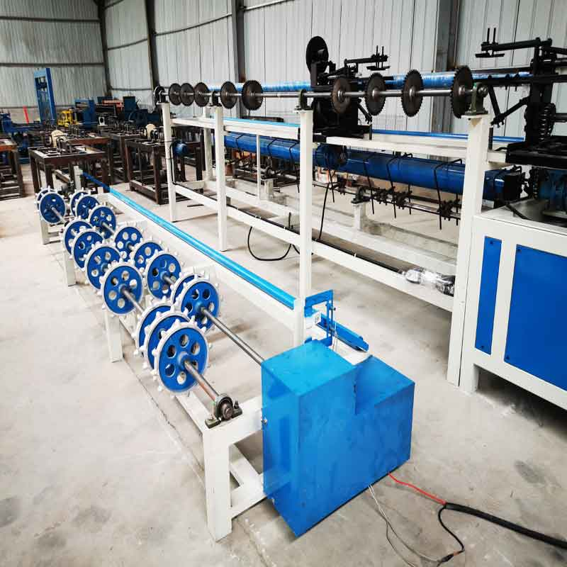 chain link fence machine factory from china