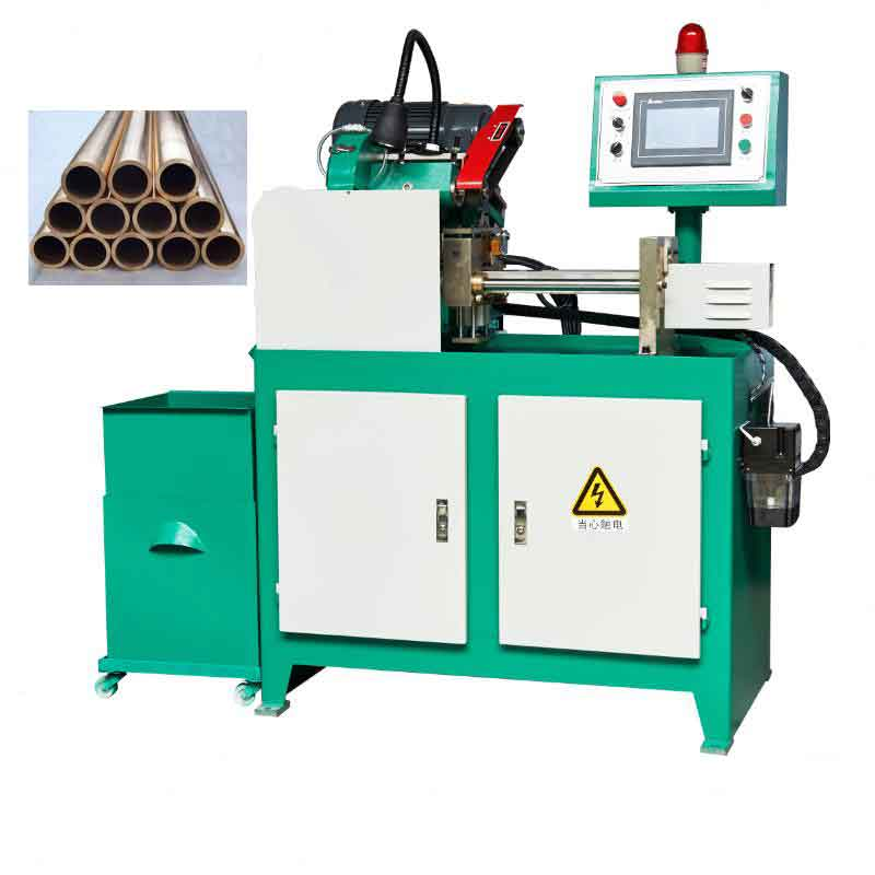 automatic pipe cutting machine packing for Russia client