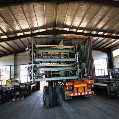 fiberglass mesh making machine delivery