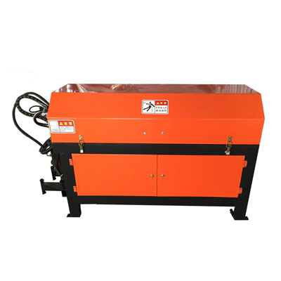 automatic rebar coil straightening and cutting machine