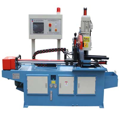 automatic steel pipe cutting machine