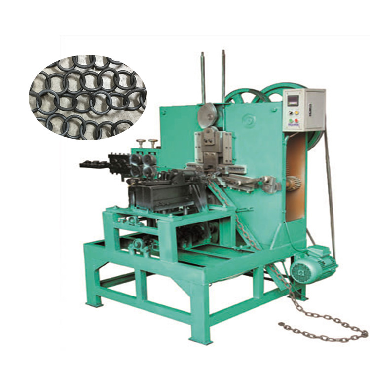 automatic chain making machine