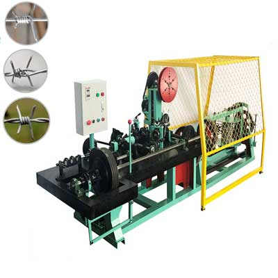 automatic barbed wire making machine CS-C